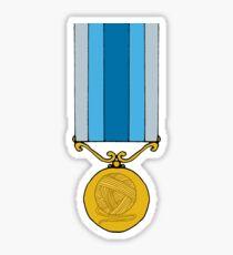 Knitting medal Sticker