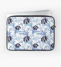 Damselfish in Blue Coral Laptop Sleeve