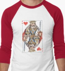 Vintage King of Hearts Playing Card T-Shirt