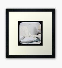 Planning the Day Framed Print