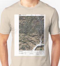USGS TOPO Map Idaho ID House Mountain 20110131 TM T-Shirt