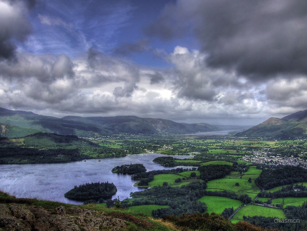 derwent water and bassenthwaite lake by chasmcn