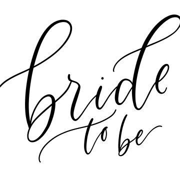 Bride To Be de stemandflourish