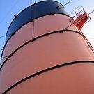 Queen Mary Smokestack by valerieparent