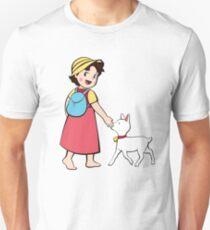 Heidi und litle Ziege Slim Fit T-Shirt
