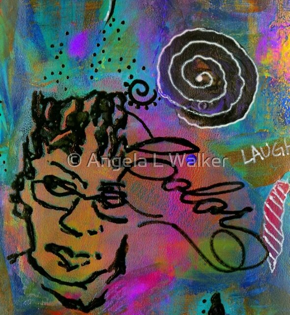 A HEALING Potion Called COLOR by © Angela L Walker