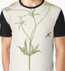 Double yellow ranunculus and insect, Pieter Withoos (possibly), 1664-1693 Graphic T-Shirt