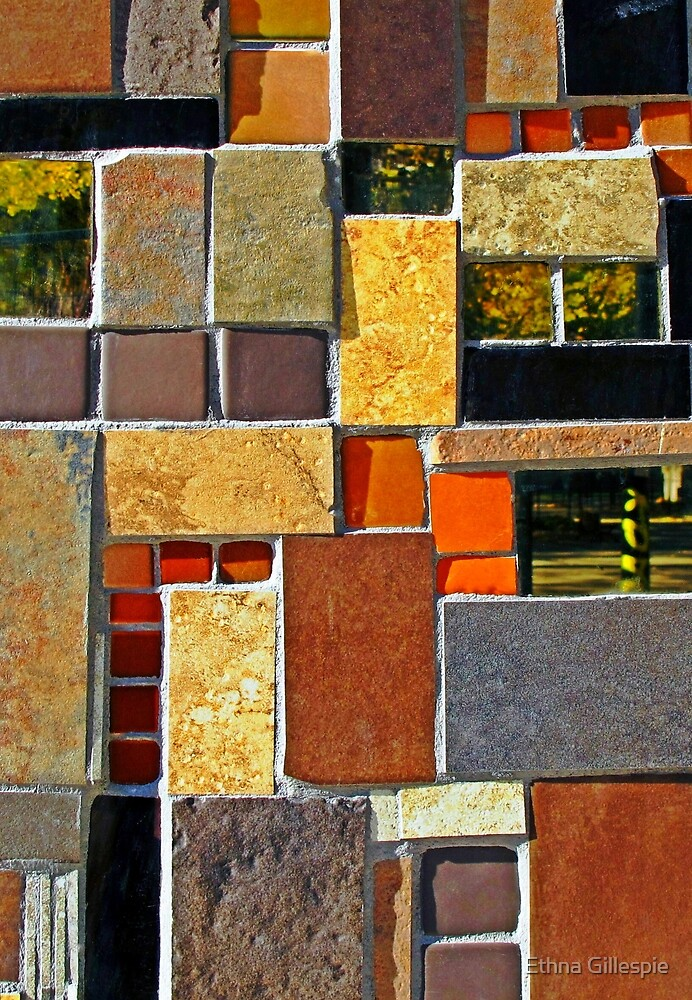 Tile Mix  by Ethna Gillespie