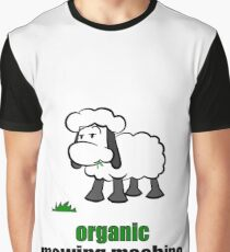 organic mowing maschine Grafik T-Shirt