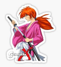 Himura Kenshin  Battousai Samurai X Sticker