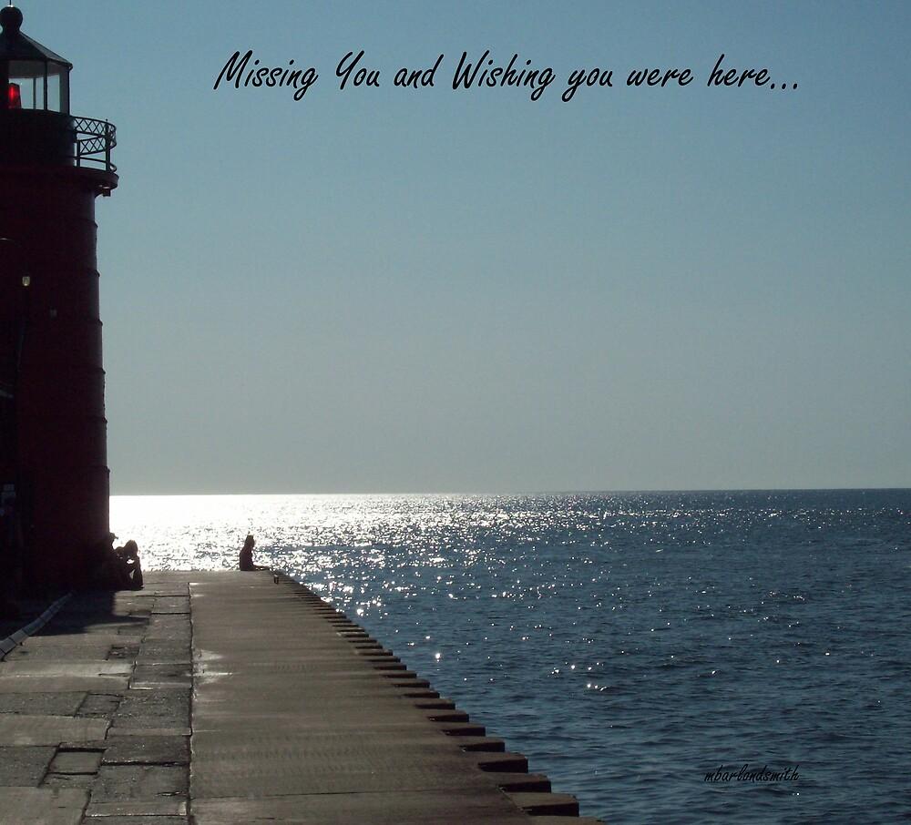 Wishing you were here by Michelle BarlondSmith