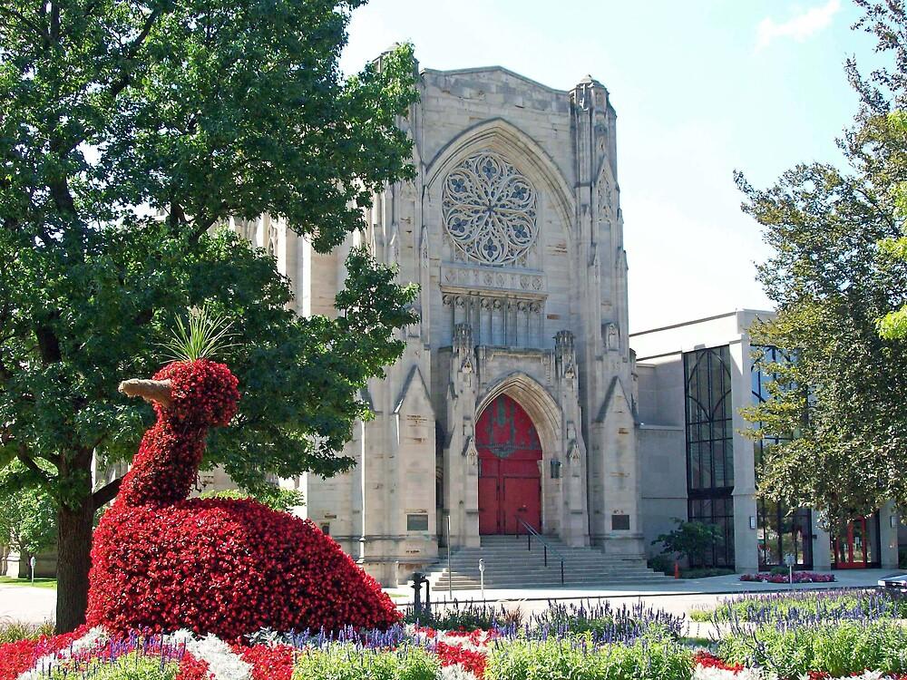 BIG BIRD goes to Church  by Michelle BarlondSmith
