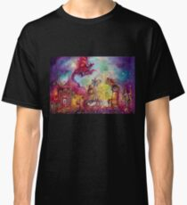 GARDEN OF THE LOST SHADOWS  / FLYING RED DRAGON Classic T-Shirt