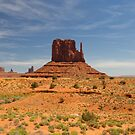 West Mitten Butte by Yair Karelic