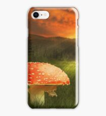HUGE MUSHROOM  iPhone Case/Skin