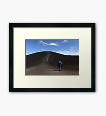 Craters of the Moon, Idaho Framed Print