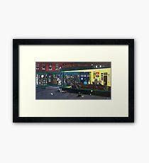 Fandom Nighthawks Framed Print