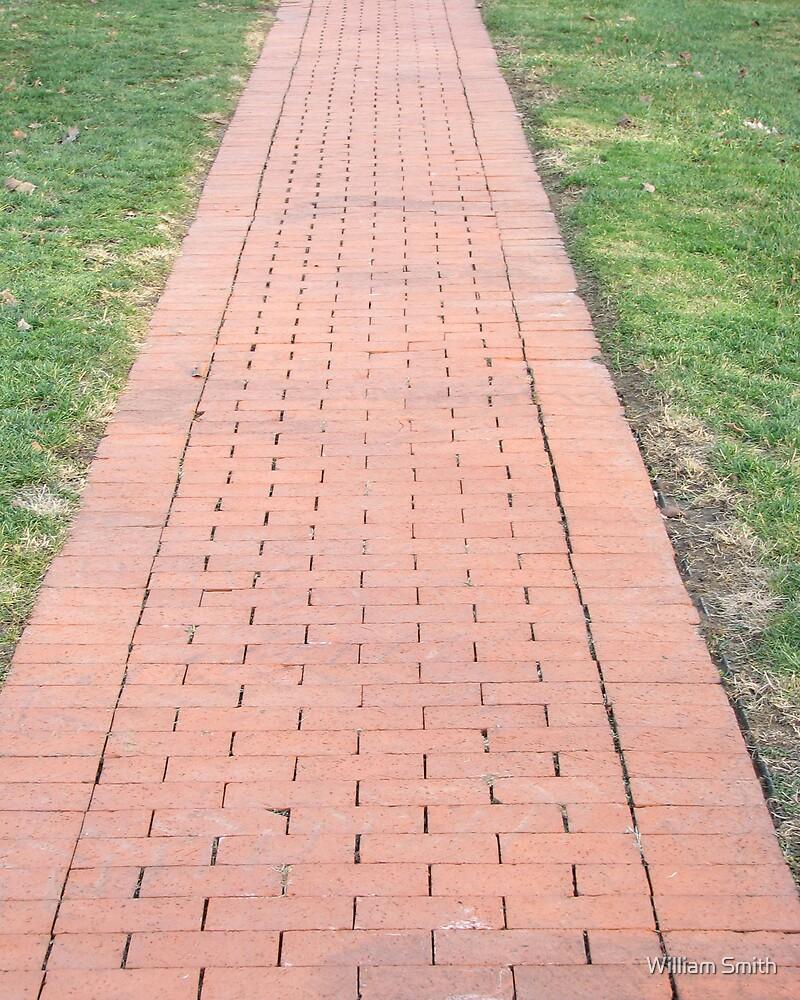 Brick Walk by William Smith