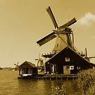 WIND MILL <> NOSTALGIC VIEW by Johan  Nijenhuis