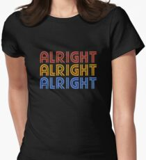 ALRIGHT ALRIGHT ALRIGHT Women's Fitted T-Shirt