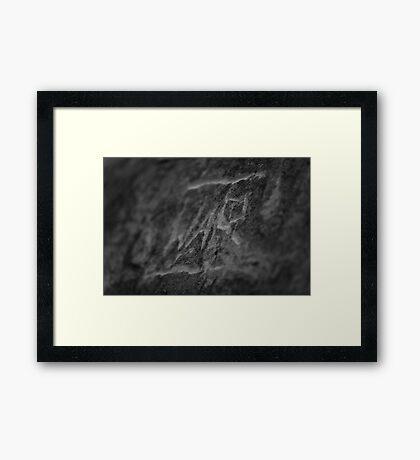 War On Words Framed Print