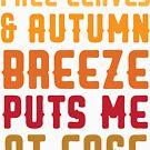 Fall Leaves & Autumn Breeze bringt mich auf Leichtigkeit von kjanedesigns