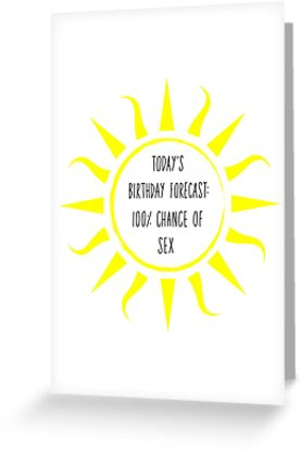 Birthday Card For Boyfriend Todays Forecast