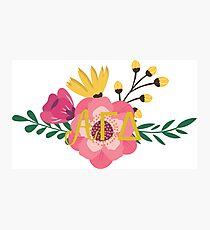 agd flower acorn Photographic Print