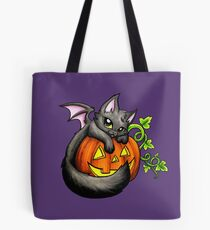 Halloween Kitty Tote Bag