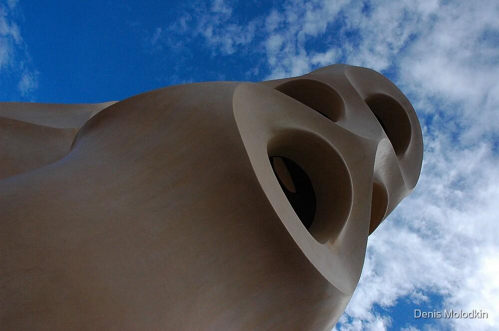 Unusual Gaudi by Denis Molodkin