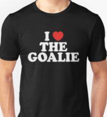 I Love The Goalie I Heart The Goalie Soccer Hockey Sport T-Shirt T-Shirt