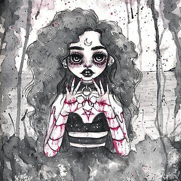Dark Witch by johanmarx