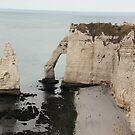 Cliffs of Etretat 1 by Elena Skvortsova