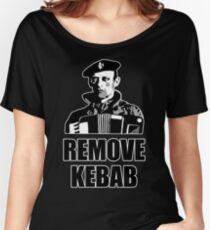 Remove Kebab - Accordion Women's Relaxed Fit T-Shirt