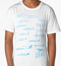 BOAC Fleet  Long T-Shirt
