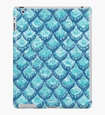 MERMAID SPARKLE Watercolor Fish Scales iPad Case/Skin