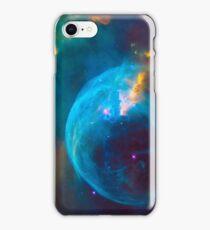 Blue Nebula Space iPhone Case/Skin