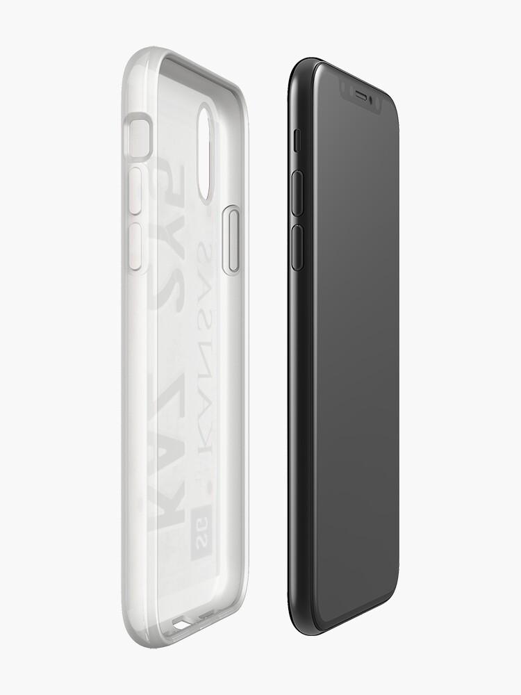 Alternative Ansicht von Übernatürliches Nummernschild iPhone-Hülle & Cover