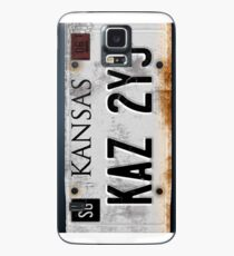 Übernatürliches Nummernschild Hülle & Klebefolie für Samsung Galaxy