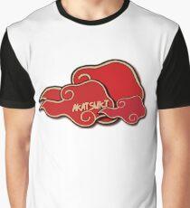 AKATSUKI   Custom Graphic T-Shirt