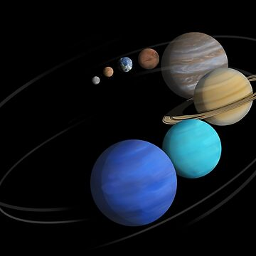 Solar System Classic by photonart