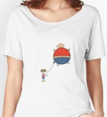 Person balloon Women's Relaxed Fit T-Shirt