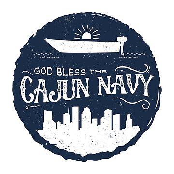 God Bless the Cajun Navy by shaileyann