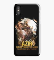League of Legends AZIR - [The Emperor Of The Sand] iPhone Case/Skin