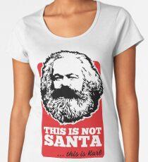 THIS IS NOT SANTA - THIS IS KARL Premium Scoop T-Shirt