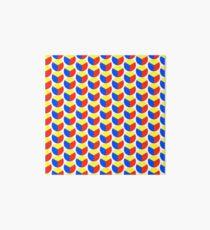 Primary colour wheel Art Board