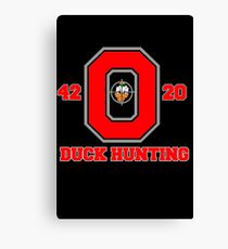 Ohio State Duck Hunting Canvas Print
