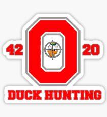 Ohio State Duck Hunting Sticker