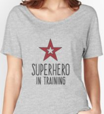 Superhero • In Training Women's Relaxed Fit T-Shirt