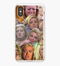 THE MANY MOODS OF GEMMA COLLINS  iPhone Case/Skin